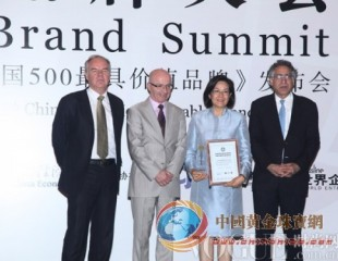 周大福蝉联2013年度《中国500最具价值品牌》珠宝类品牌第一位